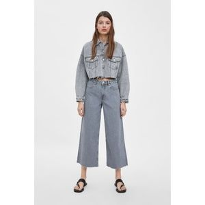 NWT Mid-Rise Cropped Culottes